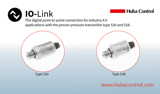 New product IO-Link type 520 & 528